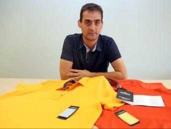 Santi Simón és un dels dos socis fundadors de Batech.  Foto:JUANMA RAMOS