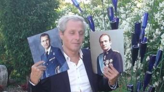 L'empordanès Albert Solà es considera fill de Joan Carles I Foto:TURA SOLER