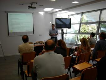 Imatge d'una de les sessions formatives organitzades pel Col·legi d'Economistes a Lleida.  Foto:ARXIU / COL·LEGI D'ECONOMISTES
