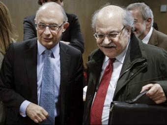 El govern del PP ha confirmat que no hi haurà per ara nou model de finançament  Foto:ARXIU