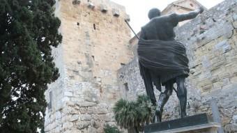 Muralla romana de Tarragona, un dels monuments declarats patrimoni mundial Foto:ARXIU