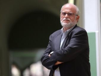 Abel Mariné, fotografiat al campus de l'alimentació a Torribera.  Foto:QUIM PUIG