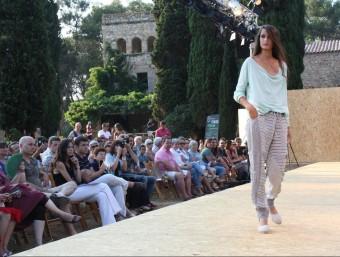Imatge de la passarel.la de moda, en l'edició de l'any passat. Foto:ACN