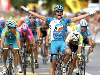 L'entrada triomfal de Xavi Florencio en l'edició del 2006 Foto:JUAN HERRERO / EFE