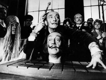 El genial pintor empordanès Salvador Dalí.  Foto:ARXIU