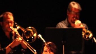 Actuació de la Girona Jazz Project, amb l'espectacle 'Fa Puntí', on es versionen temes d'Adrià Puntí Foto:JOAN SABATER