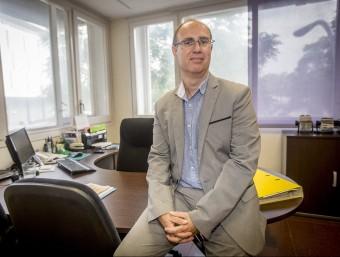 Rafel Peris va assumir la presidència de l'associació ara fa tres anys.  Foto:ALBERT SALAMÉ