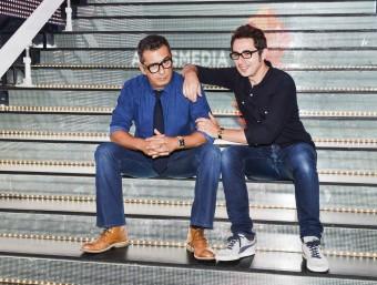 Andreu Buenafuente i Berto Romero ja han treballat junts a la televisió Foto:EL PUNT AVUI