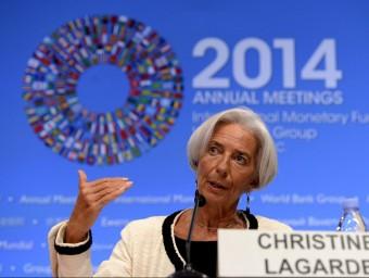 El FMI alerta del risc d'estancament a la zona euro i millora les previsions per al PIB espanyol.  Foto:ARXIU