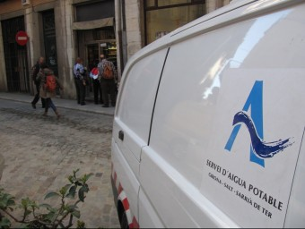 Un dels vehicles de l'empresa mixta Aigües de Girona, Salt i Sarrià Foto:D. VILÀ