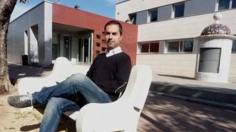 Salvador Coll, alcalde de Cornellà del Terri. Foto:R. E.