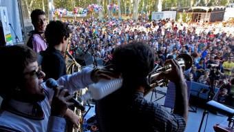L'espai de la Copa per Fires de Girona ha batut tots els rècords amb més participació de dia i gentada de nit amb els concerts més esperats Foto:LLUÍS SERRAT