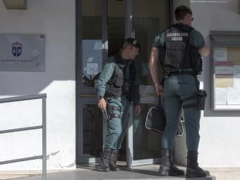 La Guardia Civil ha realitzat registres a nombroses administracions per l'Operació Púnica  Foto:ARXIU