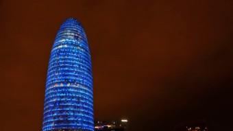 La Torre Agbar, il·luminada Foto:JUANMA RAMOS