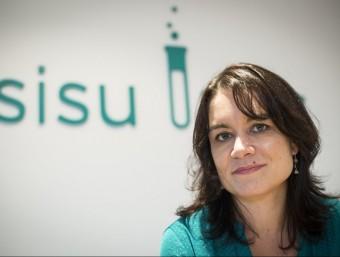 La fundadora i directora de Sisu Labs, Jennifer Woodard.  Foto:ALBERT SALAMÉ