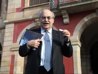 El conseller Mas-Colell ha presentat els comptes per 2015 al Parlament Foto:ANDREU PUIG/ ARXIU