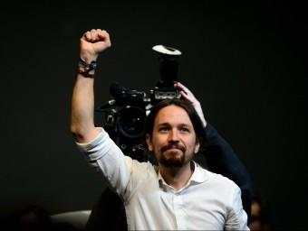 Pablo Iglesias, el líder de Podemos.  Foto:ARXIU /AFP