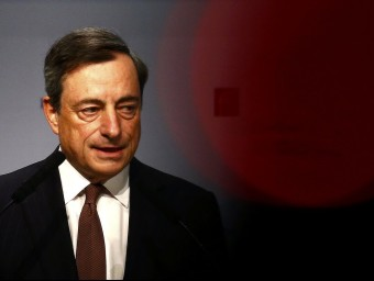 Mario Draghi, president del BCE.  Foto:ARXIU