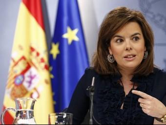 Soraya Sáenz de Santamaría Foto:ACN