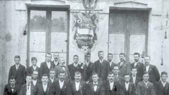Un moment de la història de l'entitat Foto:SOCIETAT CORAL JOVENTUT TIANENCA