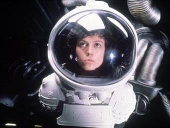 'Alien', de Ridley Scott, és una de les pel·lícules que apareixen al llibre Foto:ARXIU