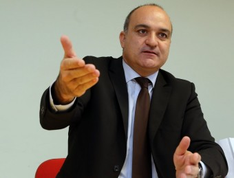 El president de la FCF, Andreu Subies Foto:QUIM PUIG