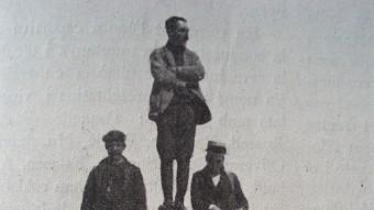 Ascenció a l'Aneto l'any 1919.