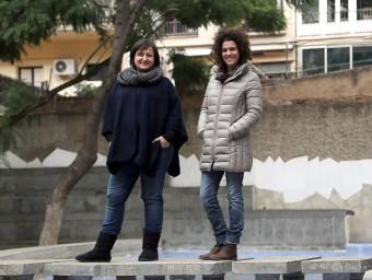 Neus Barberà i Anna Zaera són dos dels tres fundadors de Surtdecasa.  Foto:QUIN PUIG