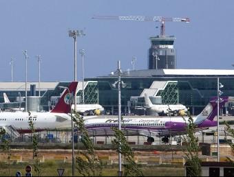 L'aeroport de Barcelona-el Prat va rebre el mes passat 3'9 milions de passatgers, el millor mes de setembre de la seva història. Foto:ARXIU