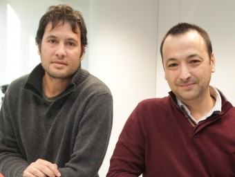 Agustín Navarro, conseller delegat, i Sergi Martínez, cap de producte.