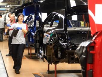 Les vendes de cotxes nous van augmentar un 29,5% a Catalunya el primer trimestre.
