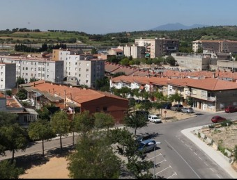 Imatge general del barri de Sant Joan, on viu la comunitat gitana. Foto:LLUÍS SERRAT