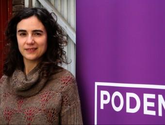 Gemma Ubasart, fins ara dirigent de Podem a Catalunya Foto:ACN