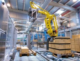 L'activitat industrial està augmentant darrerament.  Foto:ARXIU