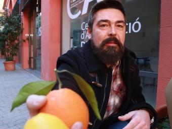 Guillem Espinach és el fundador del portal Taronges Nostres.  Foto:ANDREU PUIG