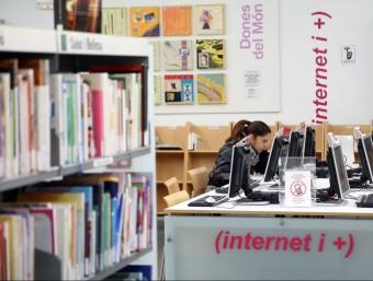 Coneixement, universitat i TIC, cada cop més unides.  Foto:QUIM PUIG
