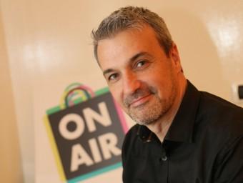 Lluís Ripoll és el soci fundador d'Onair Shopping.  Foto:QUIM PUIG