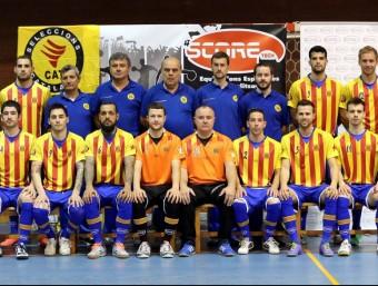 La selecció que va disputar el campionat d'Europa i que es va guanyar el dret a disputar el campionat del món Foto:FCFS