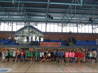 Els participants al 3x3 Espai Gironès Foto:L'Esportiu