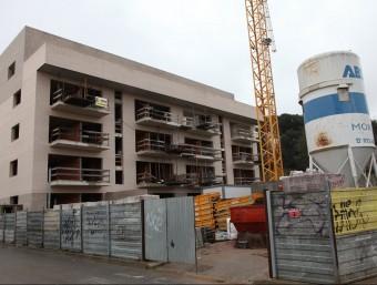 El negoci de l'habitatge repunta. L'INE ha apreciat un augment del 13% de les compravendes a Catalunya.