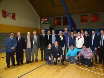 Nino Buscató amb tots els amics a l'homenatge Foto:PEP MORATA
