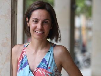Anna Caula, número dos de Junts pel Sí a Girona. Foto:LLUÍS SERRAT