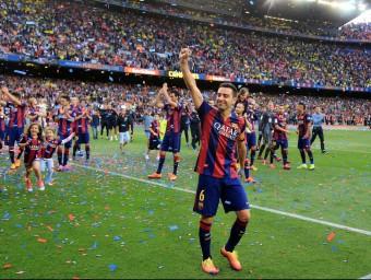 Els èxits del Barça fan més gran l'organització xarxa.  Foto:ARXIU /JUANMA RAMOS