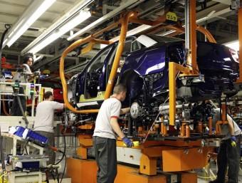 L'automoció és un dels sectors industrials que més capacitat d'atracció de nova inversió tenen.  Foto:ARXIU