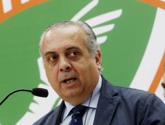 José Luis Sáez, president de la FEB Foto:EFE