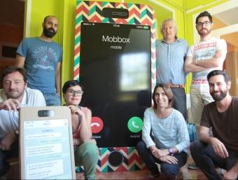 El projecte Mobbox és una idea de l'agència Pier Comunica.  Foto:JUDIT FERNANDEZ