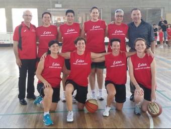 Membres de l'equip campió Foto:GEiEG