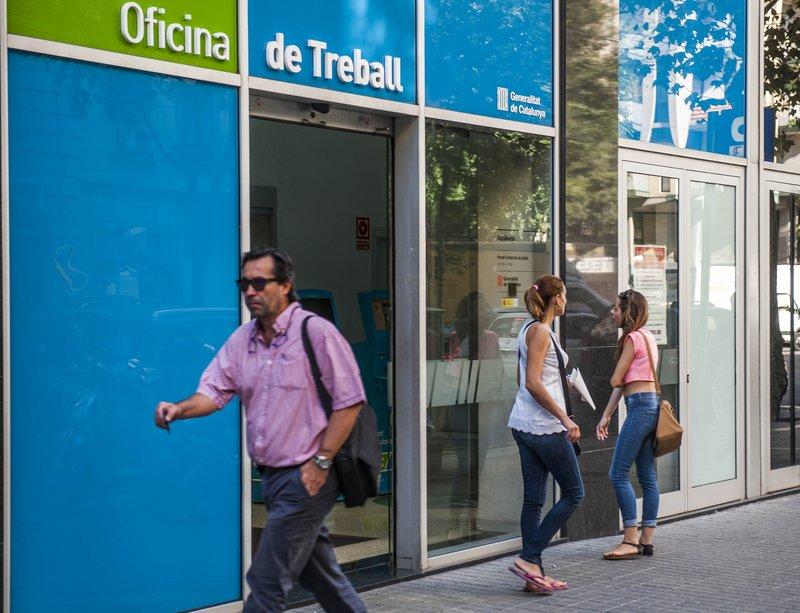 05 juliol 2016 el pened s millora durant el 2015 al for Oficina de treball barcelona