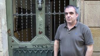 David Marin explora des dels baixos fons urbans a la llunyania dels planetes a la seva primera novel·la. Foto:JOSEP LOSADA