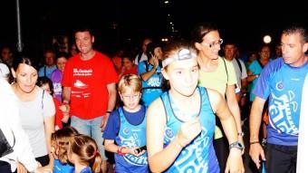 No competitiva i oberta a tothom, la caminada nocturna té uns deu quilòmetres de distància i espera l'assistència d'uns 1.100 participants Foto:AJUNTAMENT DE MOLLERUSSA